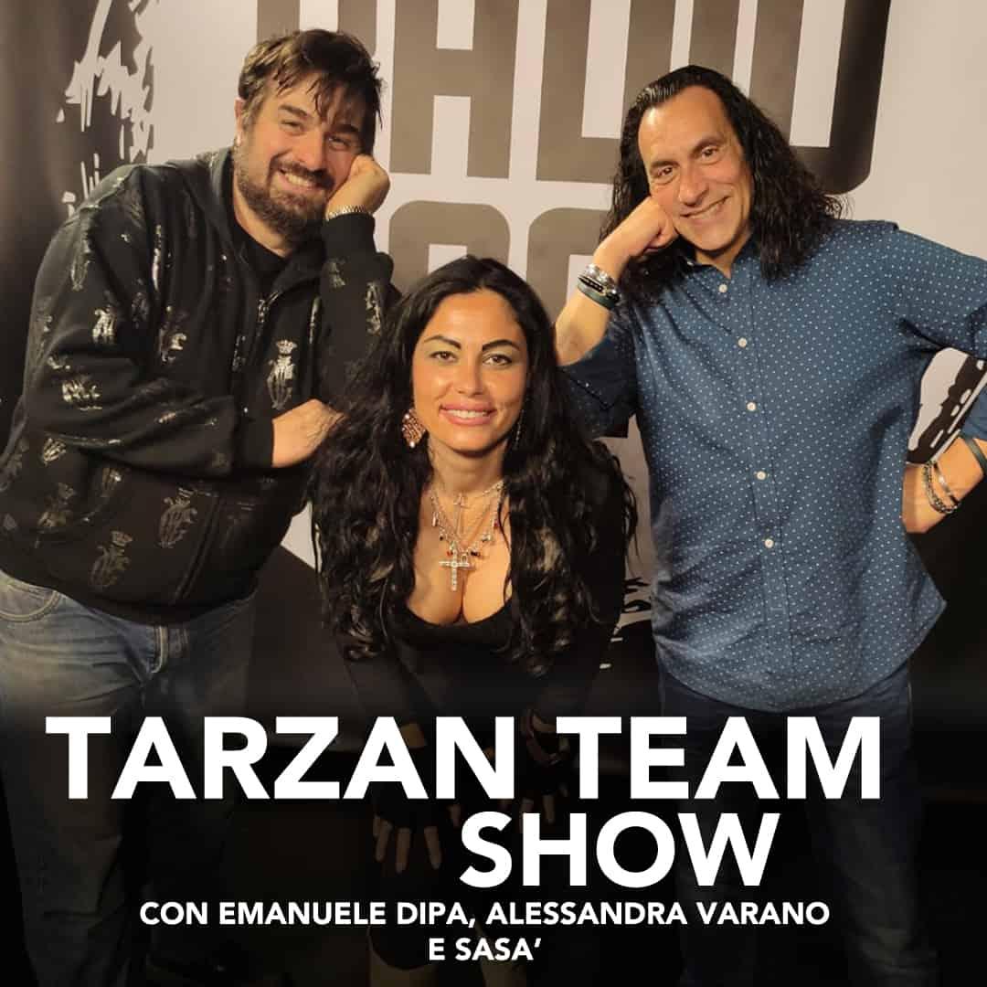 Tarzan Team Show Radio Roma